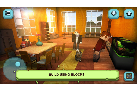 Dream House Craft: Design & Block Building Games - Android ...
