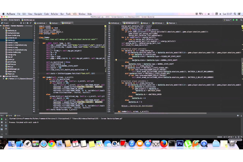 Python Timelapse Game Programming ( Ludum Dare 31 ) - YouTube