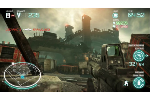 Killzone Mercenary - PS Vita Gameplay - Multiplayer - YouTube