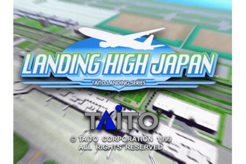 Landing High Japan arcade video game pcb by Taito (1999)