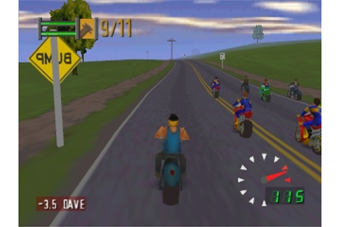 Road Rash 64 (USA) ROM