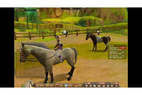 (Horses) Alicia online racing game - YouTube