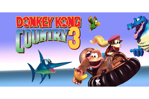 Donkey Kong Country 3: Dixie Kong's Double Trouble | Super Nintendo ...