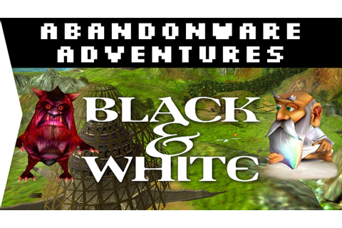 Black & White 1 HD God Game 2001! - Download & Gameplay on ...