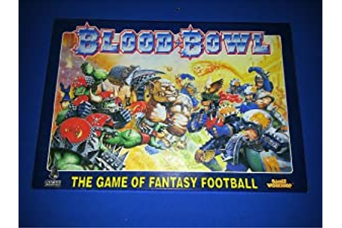 Amazon.com: Blood Bowl Board Game: Toys & Games