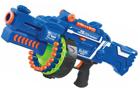 Emob Blaze Storm Soft Bullet Gun Battle Game Battery ...