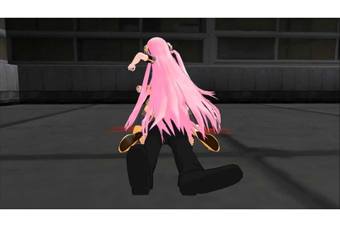 [MMD] Lesson : Ground and pound - YouTube