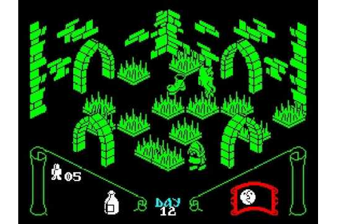 Knight Lore Walkthrough, ZX Spectrum - YouTube