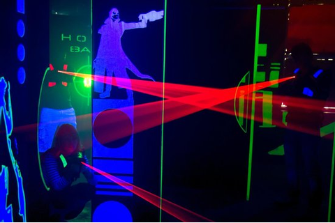 Arena - Picture of Laser Game Hyderabad, Secunderabad ...
