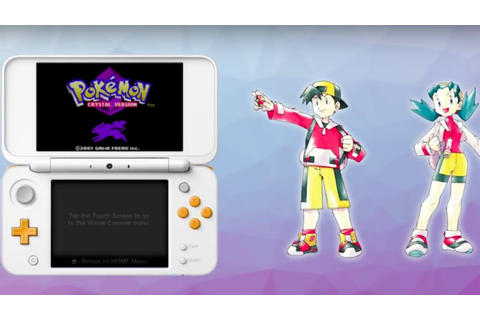 Pokemon Crystal Official 3DS Announcement Trailer - YouTube