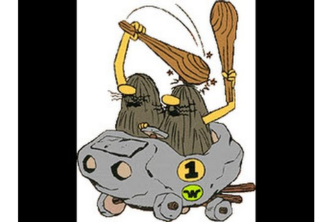 Wacky Races-The Slag Brothers [Championship Race] - YouTube