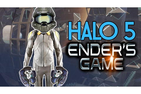ENDER'S GAME In Halo 5 | Zero Gravity Battle Room Minigame ...