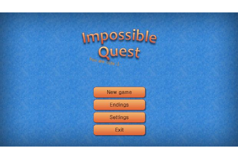 Impossible Quest Free Download « IGGGAMES