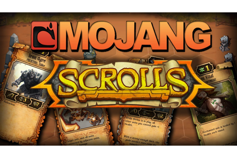 GAME ON: What is Scrolls by Mojang - YouTube