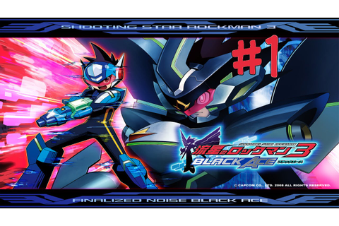 Megaman Starforce 3 Black Ace: Walkthrough 1 (Part 1/8 ...