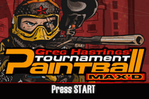 Play Greg Hastings' Tournament Paintball Max'd Nintendo ...