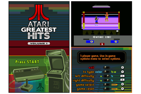 Gaming on the Go: Review: Atari Greatest Hits: Volume I (DS)