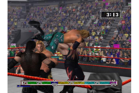 WWE Raw (a.k.a. WWF Raw) Download (2002 Sports Game)
