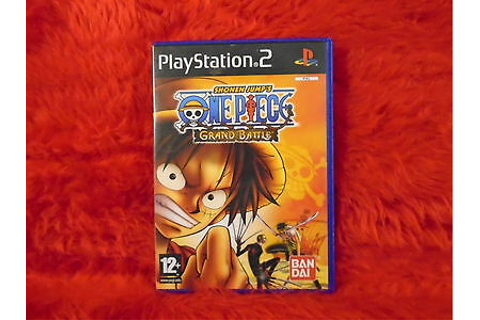 Jeu PS2 shonen jump's one piece grand battle