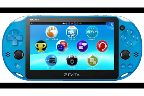NEW PS Vita Aqua Blue Coming to GameStop Release Date This ...