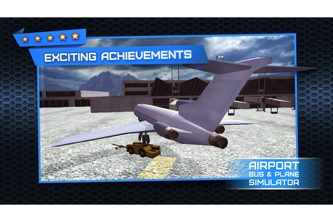 App Shopper: 3D Plane and Bus Simulator PRO - Airplane ...