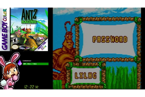Antz Racing (GBC) - Full Playthrough - YouTube