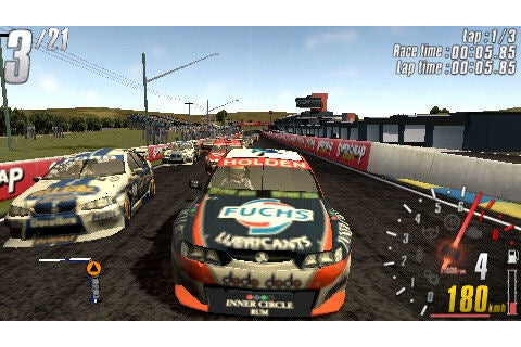 V8 Supercars 3 Shootout Aussie Hands-on - IGN
