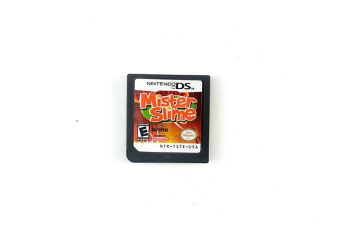 Mister Slime game for Nintendo DS (Loose) | The Game Guy