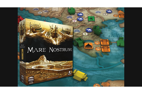 Mare Nostrum - Empires by Academy Games —Kickstarter