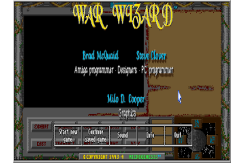 Download WarWizard | DOS Games Archive