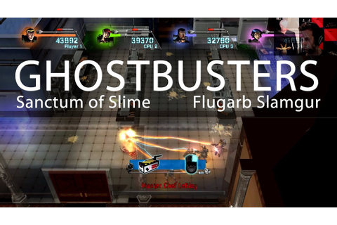 Ghostbusters Sanctum of Slime Game Play 01 - YouTube