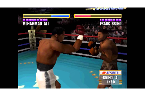 Knockout Kings 2000 ... (PS1) - YouTube
