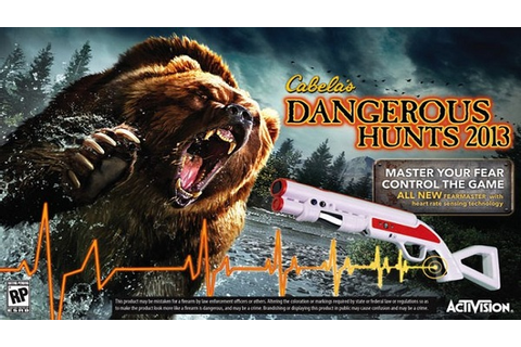 CABELA'S DANGEROUS HUNTS 2013 ~ GAMES CRACKS