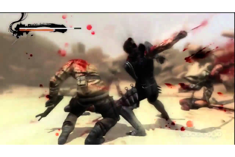 Blood and Sand - Ninja Gaiden 3 Gameplay (PS3) - YouTube