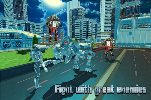 Futuristic Dino Robot Battle | Download APK for Android ...