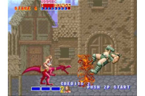 Golden Axe arcade 1/2 - YouTube