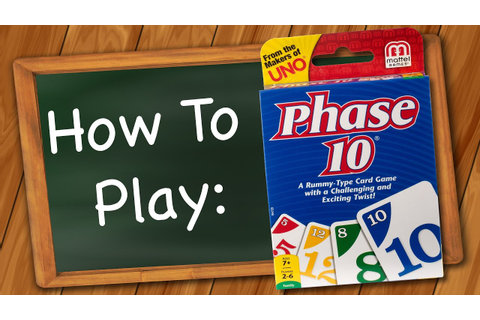 How to Play: Phase 10 - YouTube