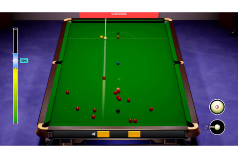 Snooker 19 V1.1 Gameplay (PC Game) - YouTube