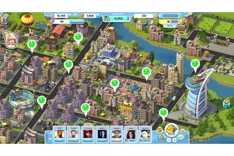 Trailer E3 2012 SimCity Social - YouTube