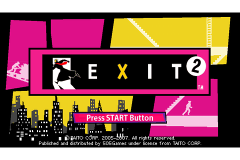 Exit 2 PSP ISO Free Download - Free PSP Games Download and ...