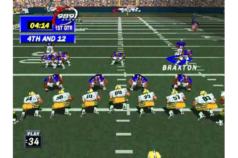Playstation - NFL GameDay 99 .flv - YouTube