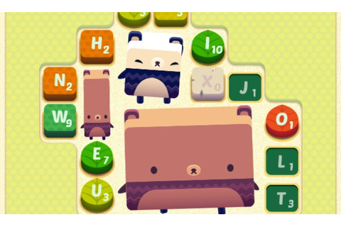 Word Game Alphabear Now Available On The App Store | Touch ...
