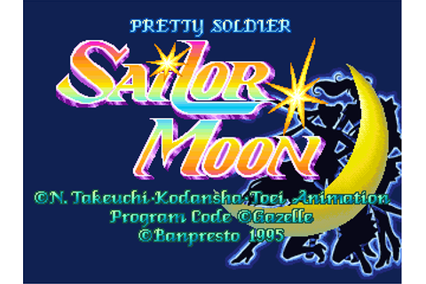 Play Pretty Soldier Sailor Moon Coin Op Arcade online ...