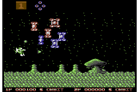 Zybex (1988) by Zeppelin Games C64 game