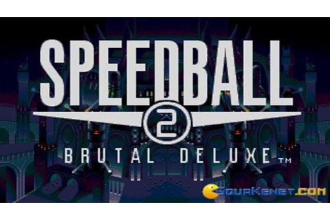 Speedball 2 - Brutal Deluxe intro (PC Game, 1990) - YouTube