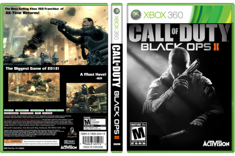 XBox 360 - Call of Duty: Black Ops 2 | Videogames That I ...