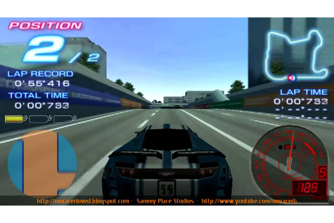 SPS: Ridge Racer 2 PSP - Duels Special Class 1 - YouTube