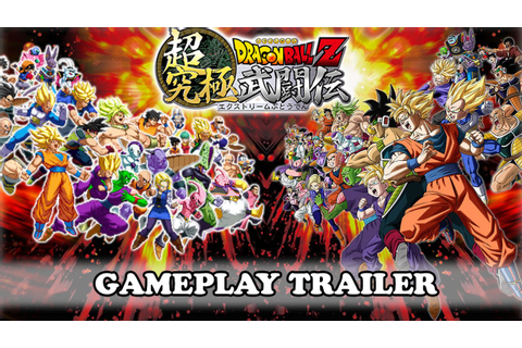 Dragon Ball Z: Extreme Butoden Gameplay Trailer - YouTube