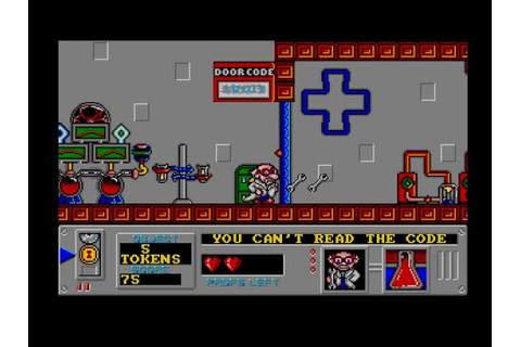 Mad professor Mariarti (Acorn Archimedes game 1990) - YouTube