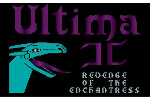 Ultima II: Revenge of the Enchantress Download (1983 Role ...